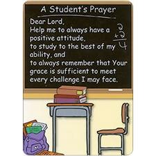 A STUDENT'S PRAYER DreamVerse Encouragement