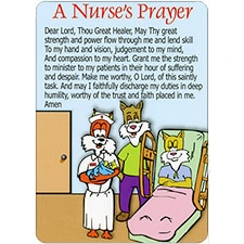 A NURSE'S PRAYER DreamVerse Encouragement