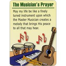 THE MUSICIAN'S PRAYER DreamVerse Encouragement