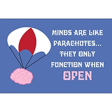 PARACHUTES Words To Live By