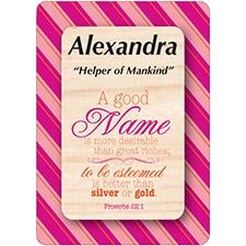ALEXANDRA DreamName Woods