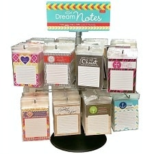 DreamNotes Assortment and Display