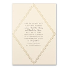 Elegant Geometric - Invitation