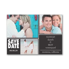 Collage Chic - Save the Date