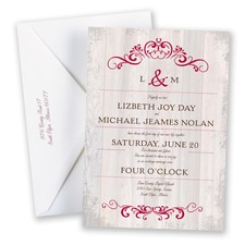 Woodland Chic Invitation