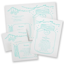 Rustic Twinkle - Separate and Send Invitation