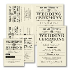 Vintage Nuptial - Sep n' Send - Ecru