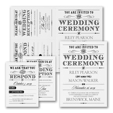 Vintage Nuptial - Sep n' Send - White