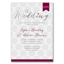 Love Aglow Invitation