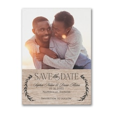 Leafy Natural - Save the Date