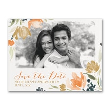 Watercolor Wildflowers - Save the Date