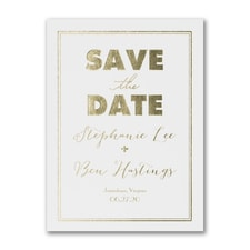 Modern Frame - Save the Date