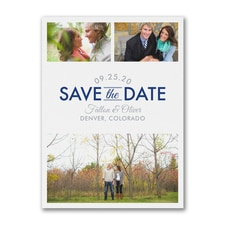 Focused on Forever - Save the Date
