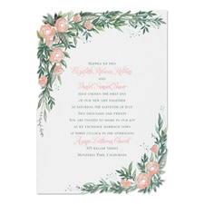 Wrapped in Floral - Invitation