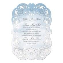 Watercolor Lace Invitation