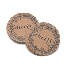 Rustic Wreath Coasters