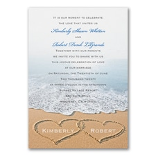 Blissful Beach - Invitation