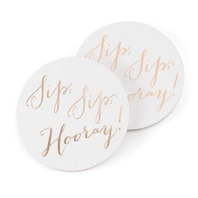 Sip, Sip, Hooray - Coaster