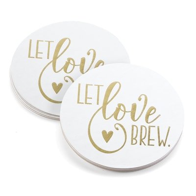Let Love Brew - Coaster