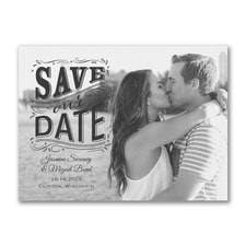 Our Day - Photo Save The Date