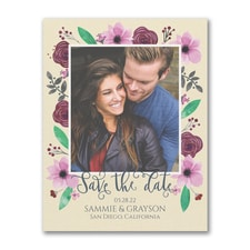 Floral Adoration - Save the Date