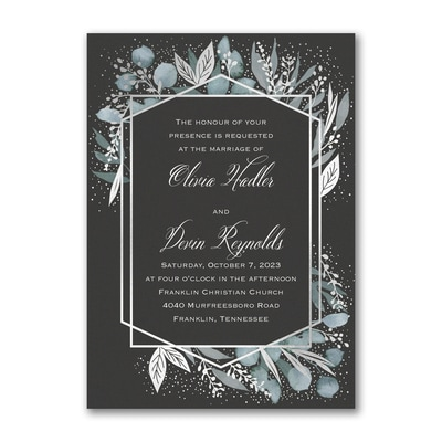 Framed Geometric Invitation