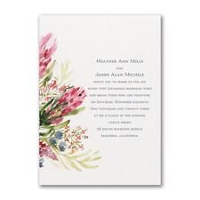 Floral Fondness Invitation