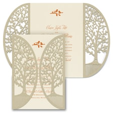 Enchanted Garden - Tree - Invitation