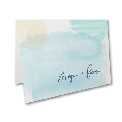 Aquarelle Blues Note Folder