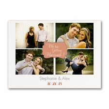 We're Getting Married - Save the Date Postcard