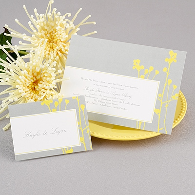 Growing together yellow invitation invitationsbywedgewood growing together yellow invitation stopboris Choice Image