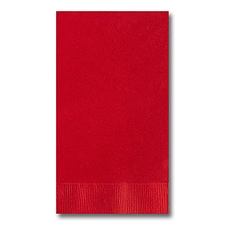 Red Guest Towel
