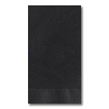 Black Guest Towel