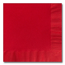 Red Beverage  Napkin