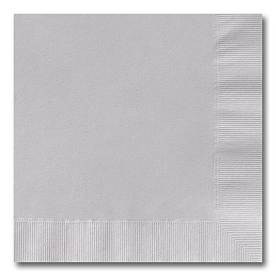 Silver Grey Luncheon Napkin