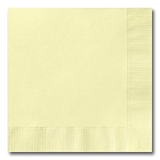 Pastel Yellow Luncheon Napkin