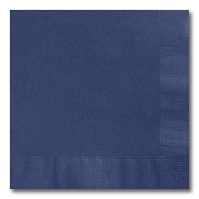 Navy Blue Luncheon Napkin