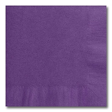 Purple Luncheon Napkin