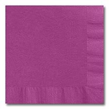 Plum Luncheon Napkin