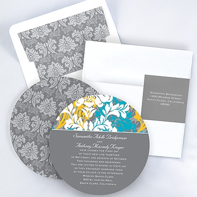 Beautiful Colors - Invitation - Pewter