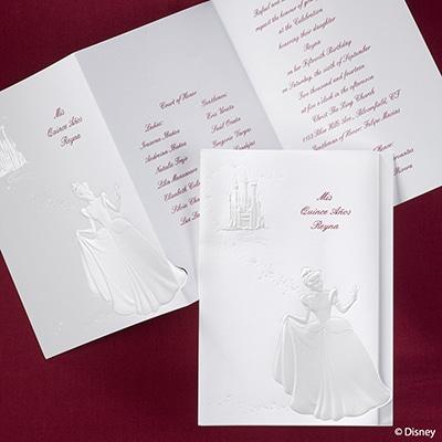 Cinderella and Castle - Invitation