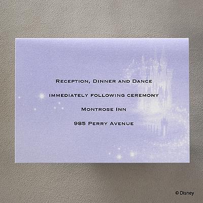 Magical Ride - Reception Card