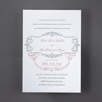 Parisian Promenade - Invitation