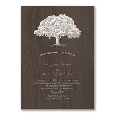 Grounded in Love - Double Thick Invitation