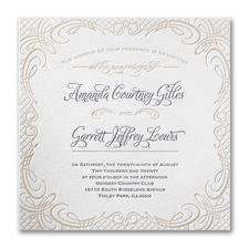 Picnic for Two - Invitation - Lettra Fluorescent White