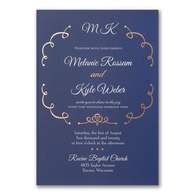 Playful Dreams - Double Thick Invitation