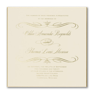 carlson craft wedding invitations royalty invitation gt wedding invitations the 3508