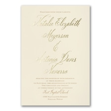 Elegant Wedding Invitations: Inspiration