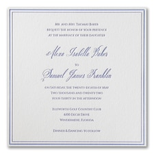 Luxury wedding invitations: Luxurious Love