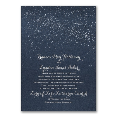 Cosmic Romance - Invitation